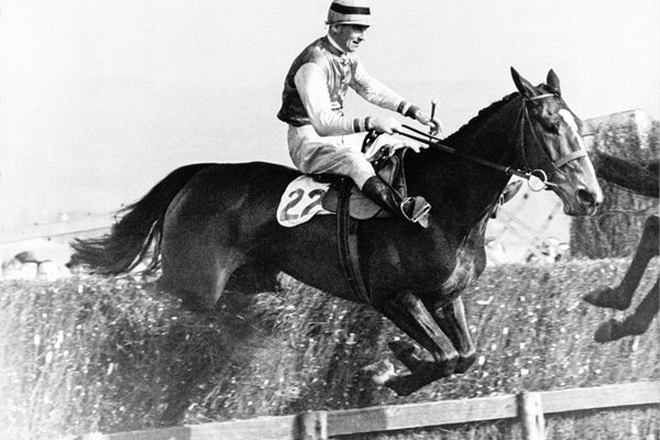 Aubrey Brabazon on Cottage Rake Cheltenham Gold Cup 1948