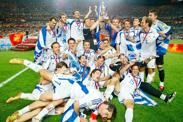 Euro 2004 Print Football Posters Greece