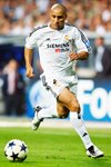 Roberto Carlos of Real Madrid  Prints