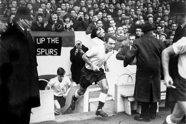 Jimmy Greaves Tottenham 1961