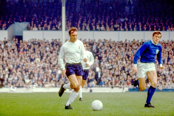 Jimmy Greaves of Tottenham Hotspur