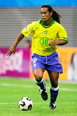 Ronaldinho on the ball