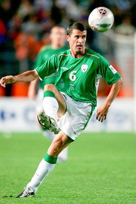 Roy Keane of Ireland in action