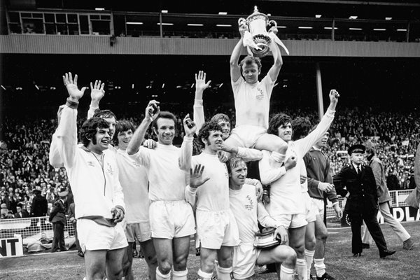 Victorious Leeds FA Cup 1972