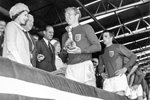 Queen and Bobby Moore 1966 Prints