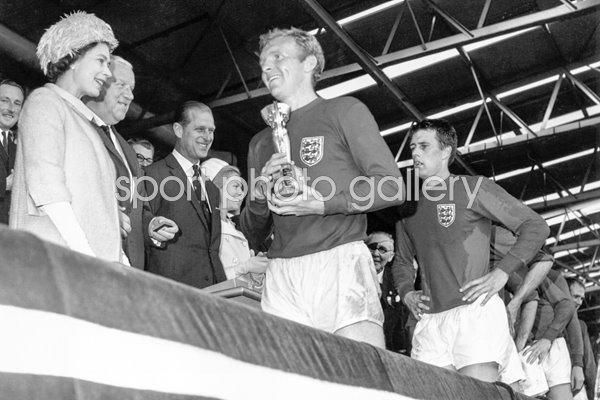 Queen and Bobby Moore 1966