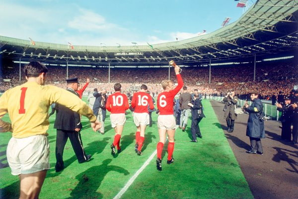 World Cup 1966 Lap of Honour