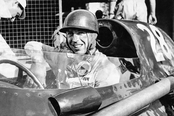 Tony Brooks Grand Prix of Italy 1958