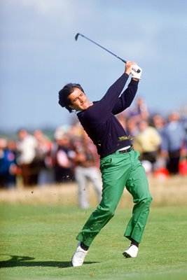 1988 Seve Ballesteros Open action Royal Lytham