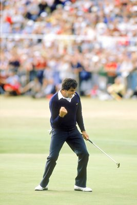 Seve Ballesteros Winning Putt Sequence #2 of 4