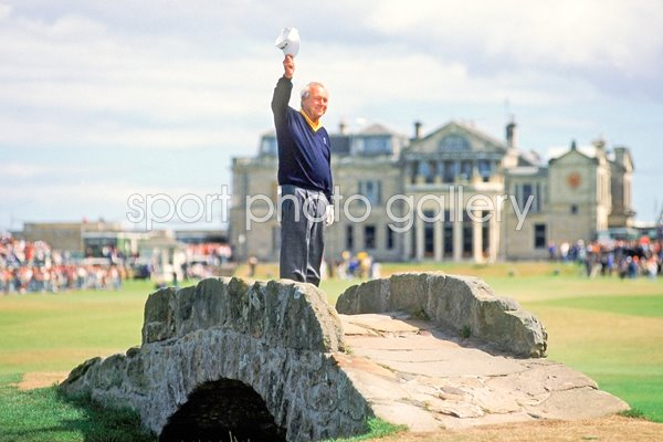 Arnold Palmer farewell St Andrews 1995
