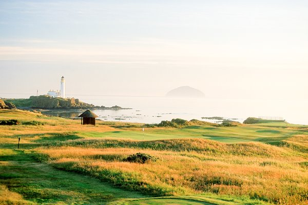 Turnberry Ailsa Course  par 3 11th hole