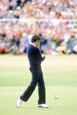 Seve Ballesteros Winning Putt Sequence #4 of 4