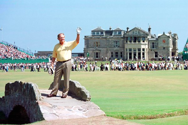 Nicklaus at St Andrews 2000