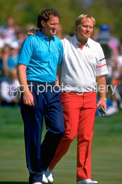 Eamonn Darcy and Jack Nicklaus