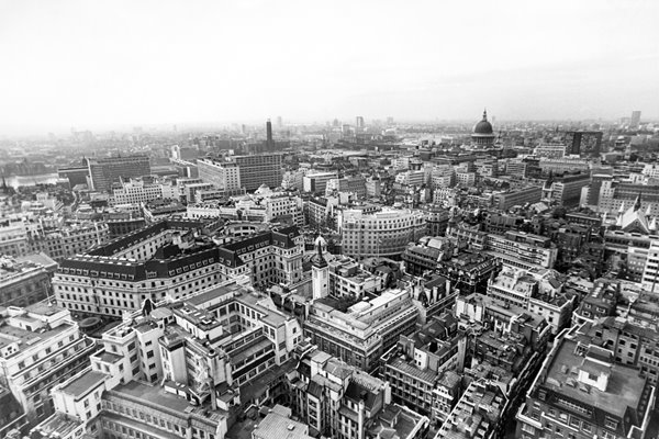 London From The Air 1969