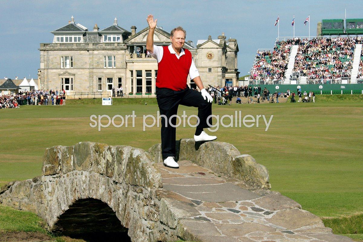 Jack Nicklaus Farewell St Andrews 2005