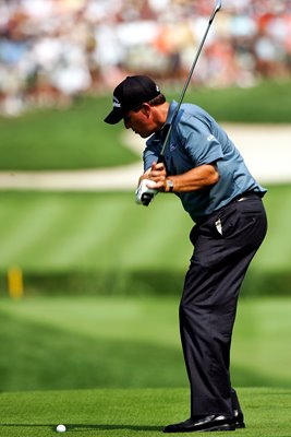 Phil Mickelson downswing
