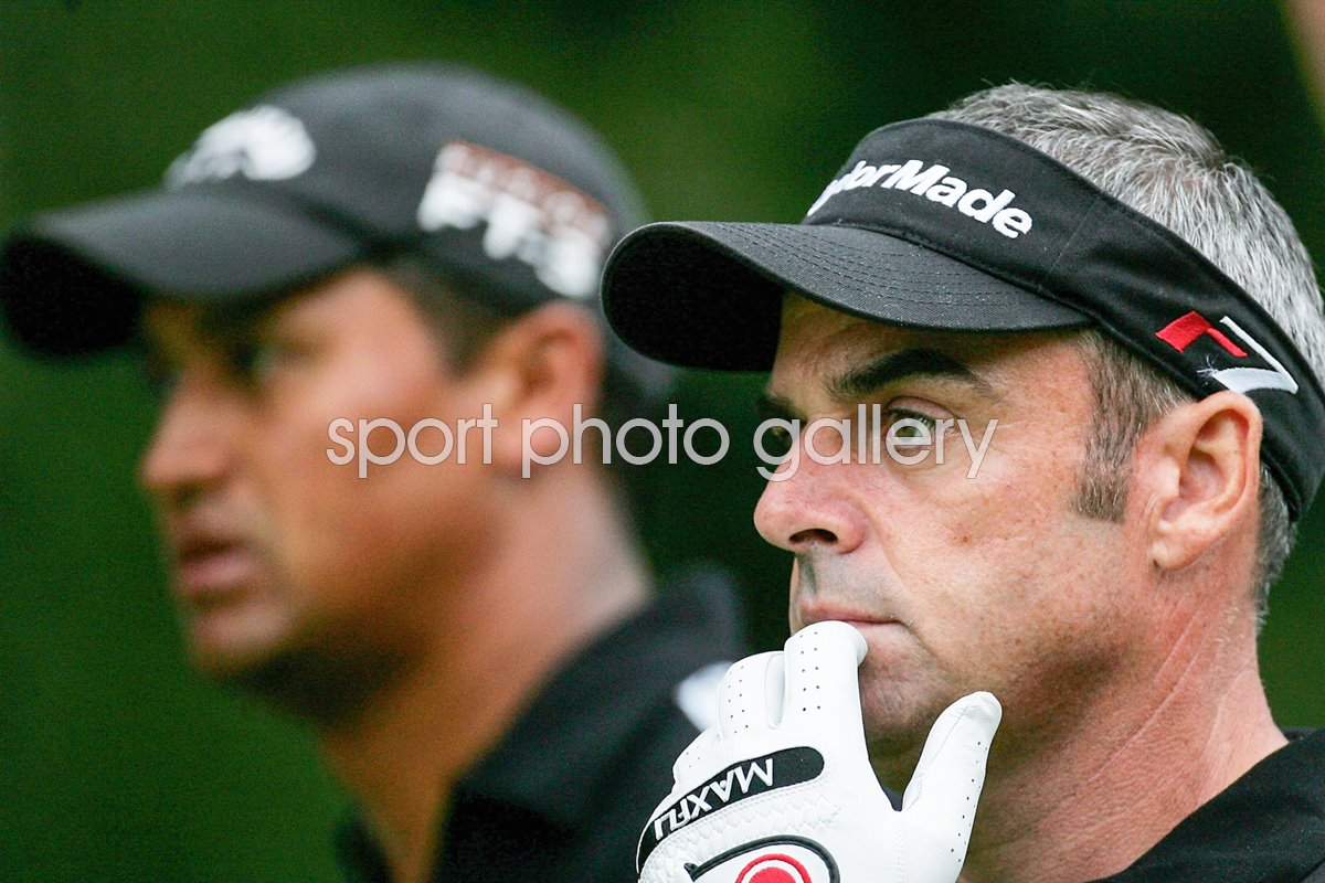 Paul McGinley and Michael Campbell