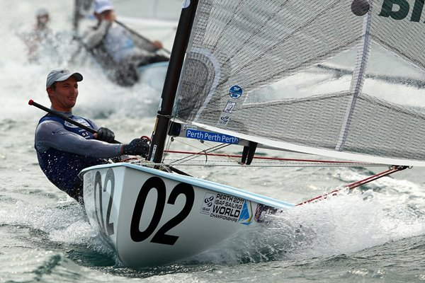 Giles Scott Sailing World Championships 2011