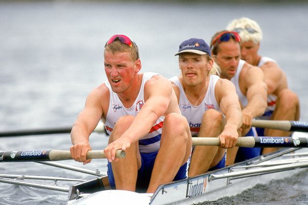 British mens coxless fours