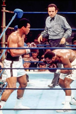 Muhammad Ali v Joe Frasier 1974