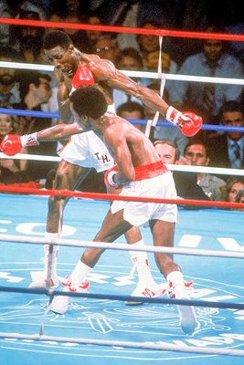 Sugar Ray Leonard v Tommy Hearns 1981