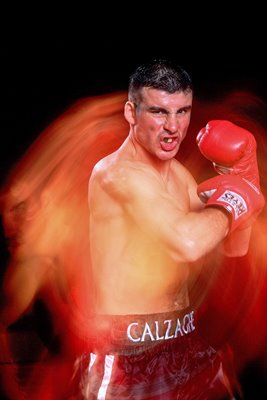 Joe Calzaghe portrait