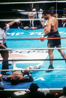 Mike Tyson knock out Michael Spinks