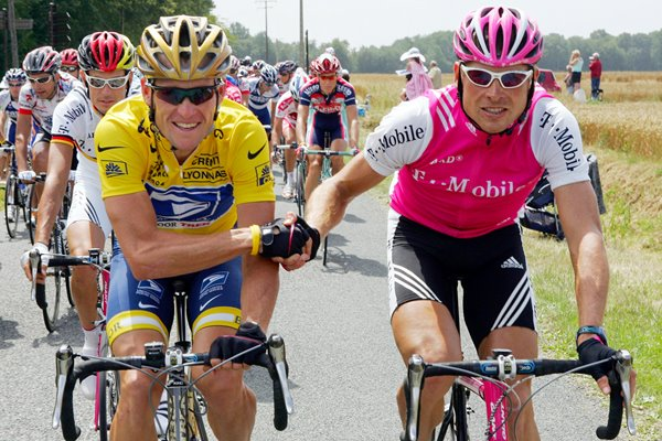 Lance Armstrong and Jan Ullrich 2004