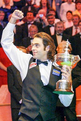 Ronnie O'Sullivan World Champion 2004