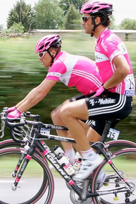 Jan Ullrich and Daniele Nardello