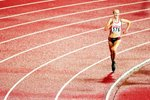 Paula Radcliffe European Championships 2002 Canvas