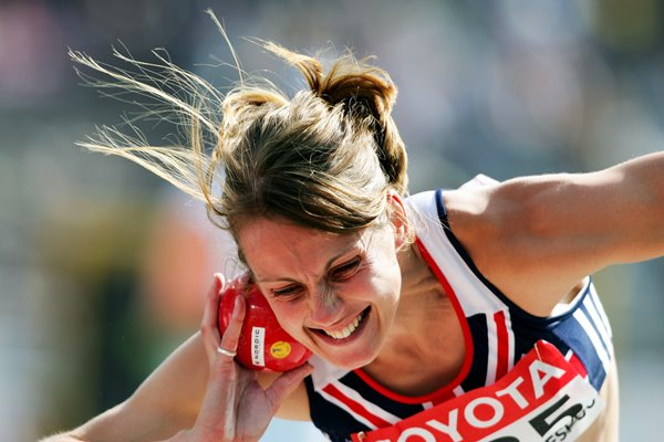 Kelly Sotherton Shot Put