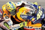Valentino Rossi in action Prints