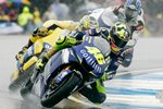 Rossi leads 2005 British Moto GP Prints