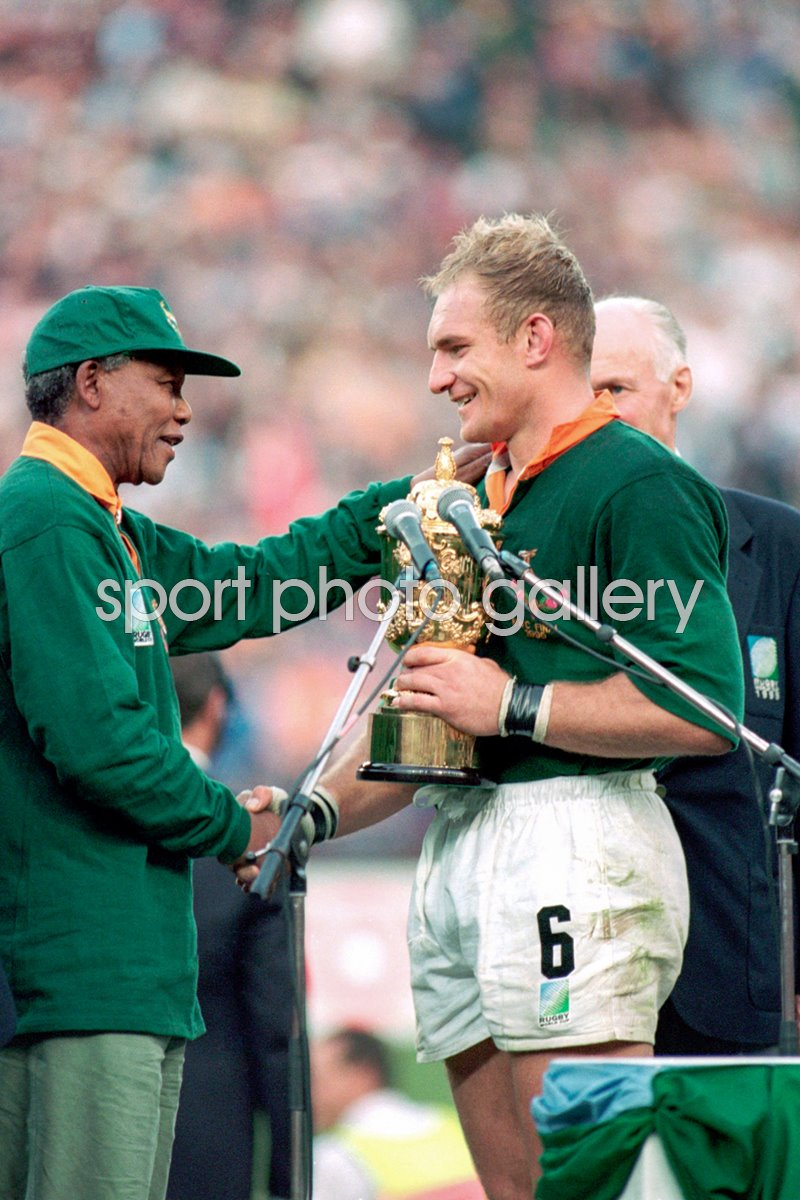 Rugby World Cup 1995 Photo Rugby Posters Francois Pienaar