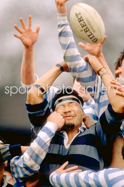 Trouble in the Lineout Cambridge v Doshiba Universities 1989