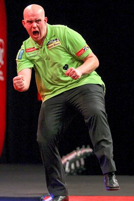 Michael van Gerwen  World Darts Championship 2012