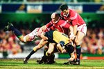 Keith Wood & Martin Johnson British Lions v Australia 2001 Prints