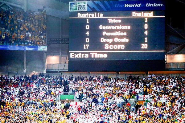 2003 Rugby World Cup Final Scoreboard