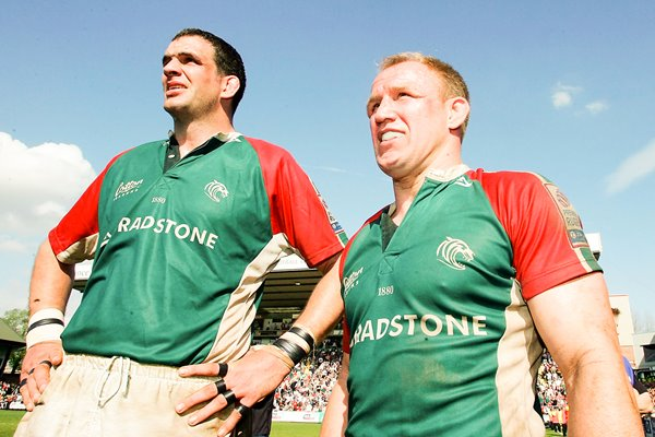 Martin Johnson and  Neil Back Farewell
