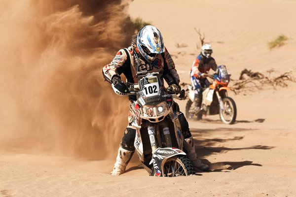 Eduardo Alan 2012 Dakar Rally