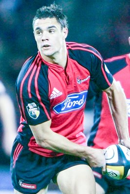 Daniel Carter of the Crusaders