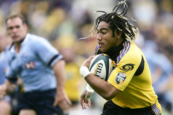 Ma'a Nonu of the Hurricanes