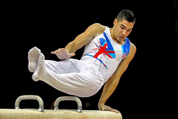 Louis Smith Gymnastics GB Trials 2012