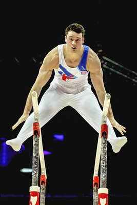 Kristian Thomas Gymnastics GB Trials 2012
