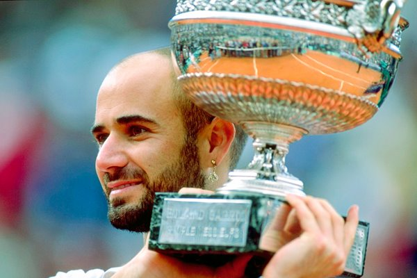 Andre Agassi Career Grand Slam