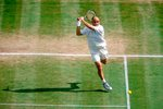 Andre Agassi Wimbledon action 2000 Mounts