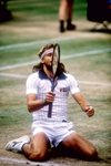 Bjorn Borg 5th successive Wimbledon win Prints